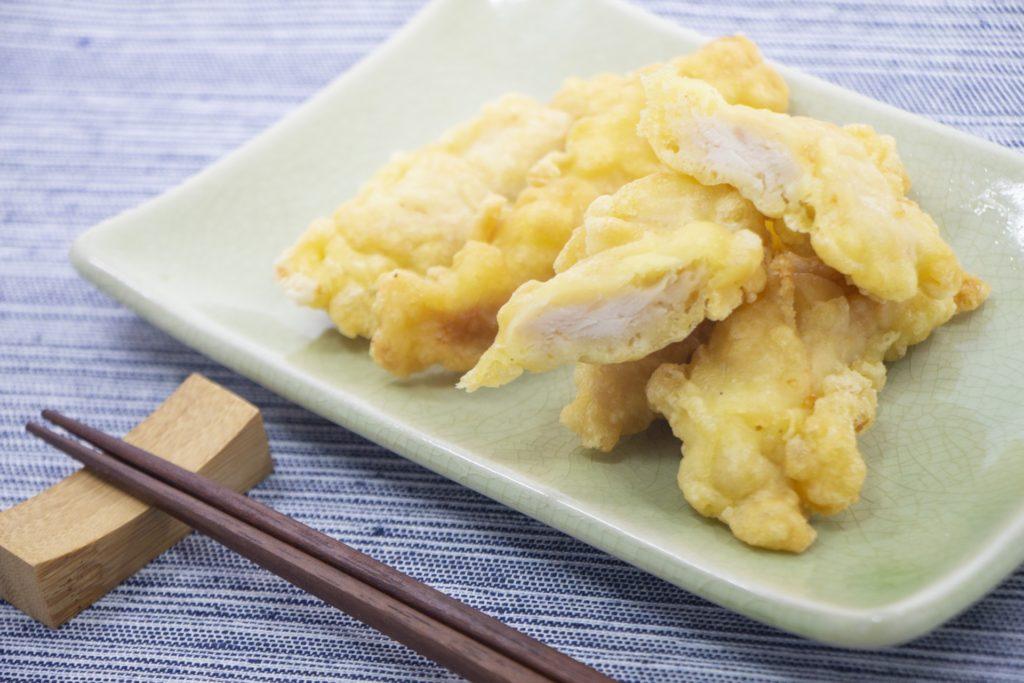 尿酸値ふっとびレシピ3:ヨーグルトを使ったやわらか鶏天